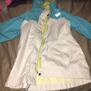 Kids The north face raincoat only. $30